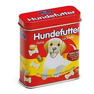 Erzi Comida para Perros latas, Comida para Perros Juguetes, Accesorios de Tienda