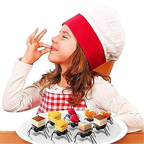 Niedlicher Mini-ANT Fruit Gabel Küche Dessert Gabeln Home Party Geschirr