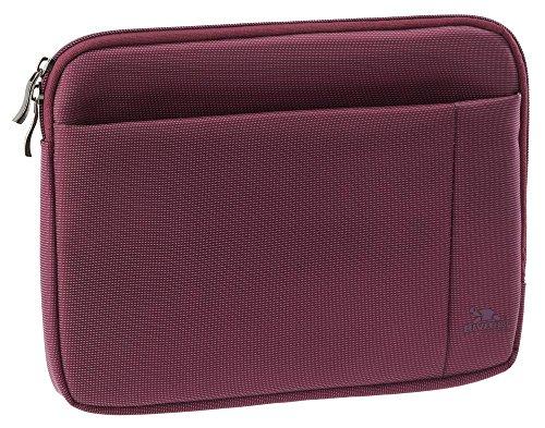 Riva Schutz Tasche Hülle Sleeve Case Cover mit Außenfach in Lila für Coby Kyros MID1042
