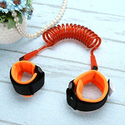 VelKro Baby Child Anti Lost Safety Wrist Link Harness Strap Rope Leash Walking Hand Belt for Toddlers, Kids