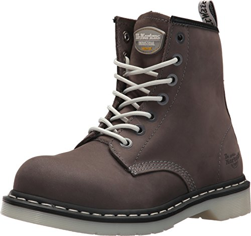 Dr. Martens Womens/Ladies Maple Classic Steel-Toe Lace up Safety Boots -