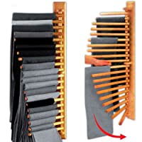 Wooden Rotating Trousers Hanger Rack for 20 pairs