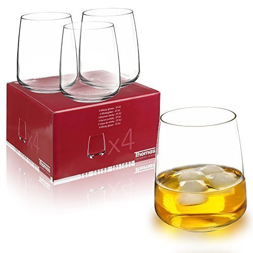Thomas Rosenthal Whiskey Glas Tumbler 4 x 375 ml