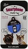 Platinum Pets The Original smartphone Cat tag ID con GPS, blu