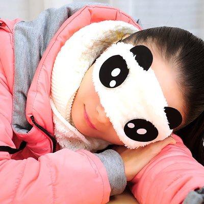 Regolabile Eye Mask sonno Eyeshade Blindfold Lovers Bambini, Auto/Treno aereo. Pity
