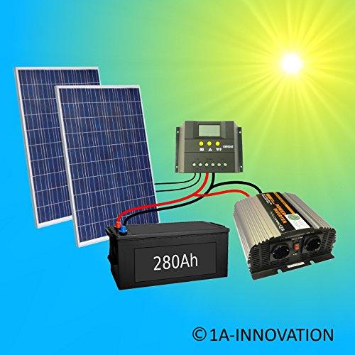 Komplette 220v 500w Solaranlage Tuv Mit 280ah Preispiraten De