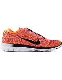 nike womens gratis TR flyknit running trainers 718785 zapatillas de deporte zapatos (uk 7.5 us 10 eu 42, brillante c¨ªtrico negro rosa potencia negro 800)
