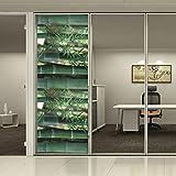 HoHo - Lámina decorativa de cristal esmerilado para ventana, protector de privacidad, rectangular,...