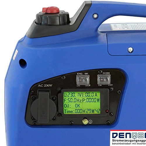 Denqbar DQ1200 digitaler Inverter Stromerzeuger 1,2 kW - 4