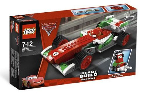 Preisvergleich Produktbild LEGO 8678 Disney Cars Exclusive Limited Edition Set Francesco Bernoulli