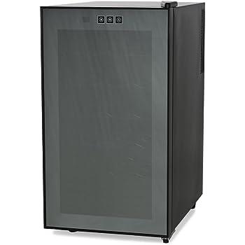 AMSTYLE Design Weinkühlschrank 48 Liter 12°C-18°C einstellbar