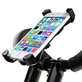 Bike Phone Holder ISWEES Adjustable Securely Bike Mount...