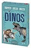 moses. Trumpfen Spielen Quizzen Dinos | Kartenspiel für Kinder ab 8 Jahren | Dinosaurier