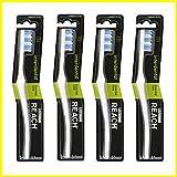 Reach Listerine Zahnbürste Interdental Medium Full 1PCS–4Artikel Pro, um