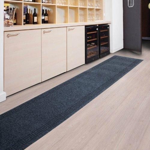 Floori Küchenläufer - 9 Größen wählbar - 66x250cm, anthrazit