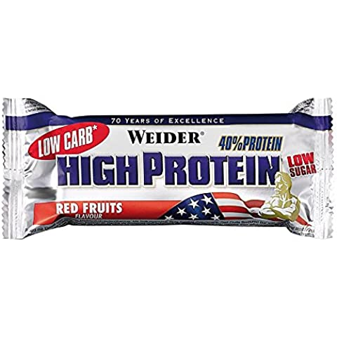 Weider Low Carb 40% 25 x 50 G Fragola
