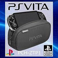 Official Sony PlayStation PS Vita morbido sacchetto Carry Bag custodia da viaggio – con doppio scomparti per periferiche…