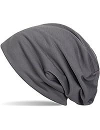 styleBREAKER klassische Slouch Beanie Mütze, leicht und weich, Longbeanie, Unisex 04024018