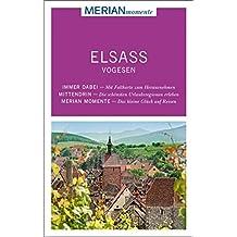 MERIAN momente Reiseführer Elsass Vogesen