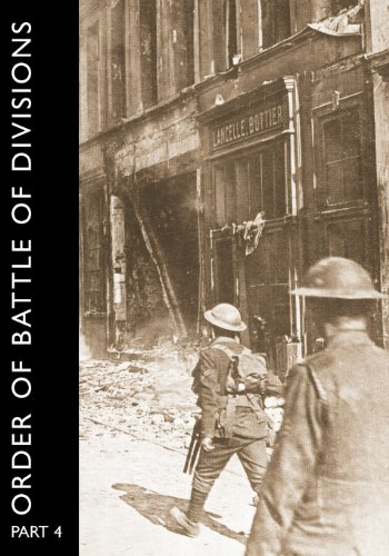 ORDER OF BATTLE OF DIVISIONS, Part 4 Cover Image