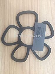 Generic DIY Christmas Cake tools silicone hollow flower shape designed table mat trivet tableware kitchen accessories