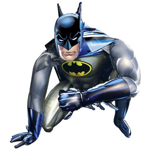 PARTY DISCOUNT NEU Folienballon Batman Airwalker 91 x 111 (Batman Verwandte Kostüme)