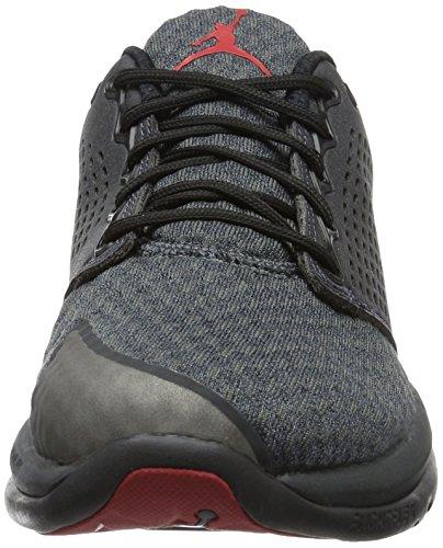 Nike 854562-003, Scarpe da Basket Uomo Multicolore (Black/Gym Red/Anthracite)