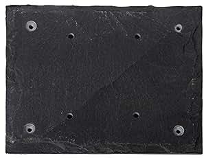esschert platte aus schiefer f r zwei nummer grau hs012 baumarkt. Black Bedroom Furniture Sets. Home Design Ideas