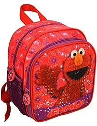 4925cff76bd53 Ragusa-Trade Sesamstrasse Samson Elmo Ernie Bert Grobi Krümelmonster  Rucksack Kinderrucksack (USA) mit Hauptfach und Nebenfach…