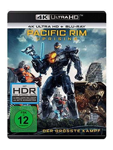 Pacific Rim - Uprising (4K Ultra HD) (+ Blu-ray 2D)