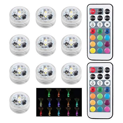 Teelichter Tauch-LED-Licht Tee Kerzen batteriebetriebene flackernde Flamme weniger Kerzen für Jäten Jubiläum Weihnachtsfeier Dekoration