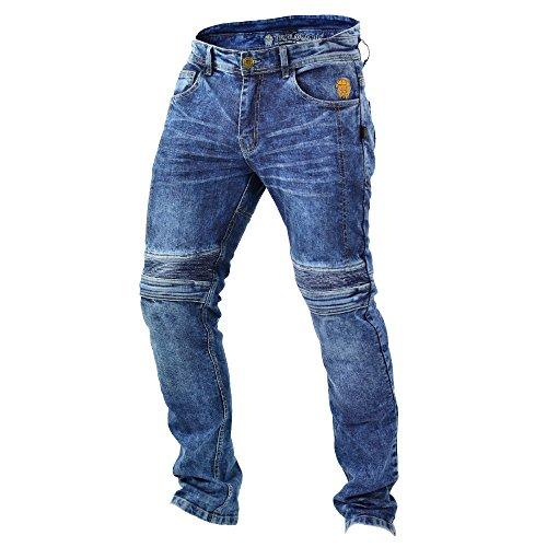 Trilobite Impresión de pantalones vaqueros para motorista