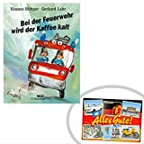 Ostprodukte-Versand.de Bei der Feuerwehr wird der Kaffee kalt | INKL DDR Geschenkkarte | DDR Geschenk | Ideal für jedes DDR Geschenkset | DDR Waren