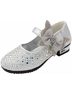 Tanzschuhe Mädchen KIMODO (3-6 Jahre alt) Neu Kinder Baby Mädchen Mode Soild Bowknot Bling Sneaker Party Freizeitschuhe...