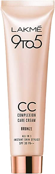 Lakme 9 to 5 Complexion Care Face Cream, Bronze 30 gm