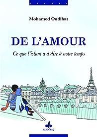 De l'amour par Mohamed Oudihat