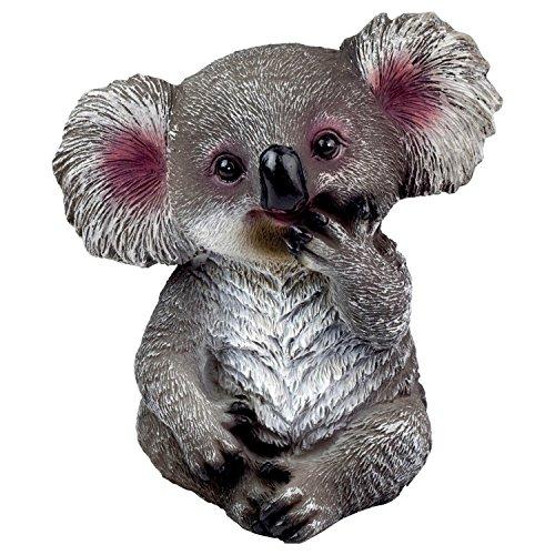 Garten Deko Tier Figur Kleiner Koala Bär
