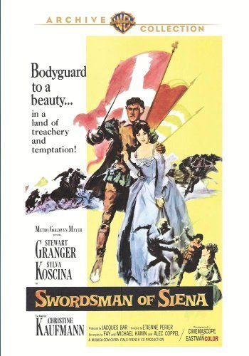 Swordsman of Siena by Stewart Granger