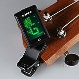 Mini Digital Stimmgerät mit Clip für Gitarre Violine Bass Ukulele Swiff A2