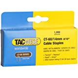 Tacwise CT-60/14mm Cable Tacker Staples (Boxed 1;000 )