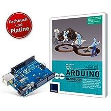 Arduino Handbuch und Original Arduino Uno Platine: Platinen, Shields, Elektronik und Programmieren: mehr als 20 Projekte als Startpunkt für eigene Vorhaben