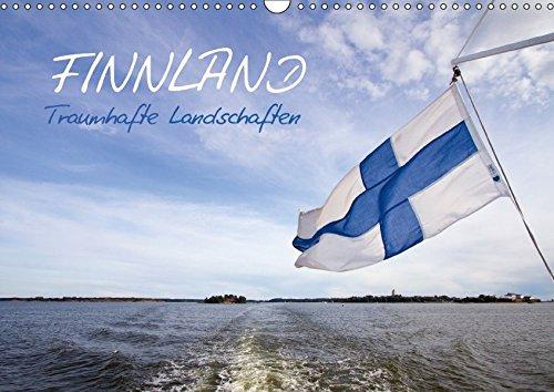 FINNLAND - Traumhafte Landschaften (Wandkalender 2018 DIN A3 quer): Seen, Wälder, Wolkenformationen und historische Orte (Monatskalender, 14 Seiten ) ... [Kalender] [Apr 01, 2017] Viola, Melanie