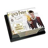 Harry Potter Desk Block 2019 Calendar - Page a Day Desk Block Format