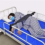 Cinghia di ritenuta degli arti di controllo del guardrail del letto di cura del letto anziano da usare con il letto o la sedia, 64 × 10cm
