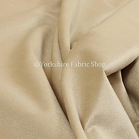 Neue weiche Qualität Low Chenille Velours Samt Vorhang Innendekoration Möbelstoff, beige, Per Metre