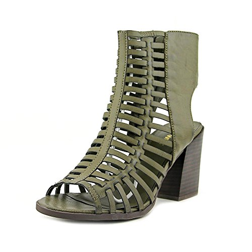 Nine West Hang Tuff Synthétique Sandales Olive