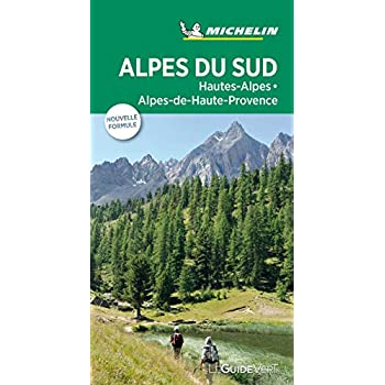 Guide Vert Alpes du sud, Hautes-Alpes, Alpes-de-Haute-Provence Michelin