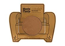 MastaPlasta - Toppa Autoadesiva per la Riparazioni di Camoscio. Colore Castagna. Scegli Dimensioni/Design. Pronto Soccorso per Divani, Sedili Auto, Borse, Giacche, ECC.