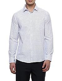 Richard Parker By Pantaloons Mens Poly Cotton Shirt