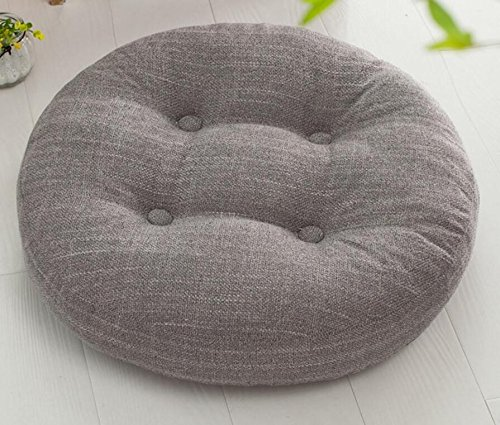 WDZA Le Coussin De Chaise Simple Office Étudiants Classe Pique-Nique Jardin Assise, 50X10Cm, Gris